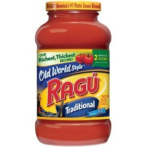 RAGU PASTA SPAGHETTI TOMATO SAUCE OLD WORLD TRADITIONAL STYLE 24 OZ JAR by Ragu (Spaghetti 24 Oz compare prices)