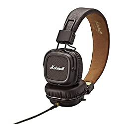 Marshall, Major II, On-Ear FULLY COLLAPSIBLE Headphones, Brown