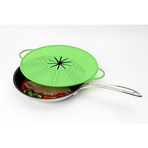 Dexam Protection anti-éclaboussures en silicone 33cm, vert