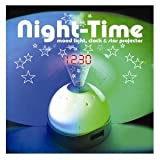 EiioX LED Color Change Star Sky Night Light Projection Projector Alarm Clock Magic**IDEAL FOR CHRISTMAS, PARTYS, BIRTHSDAY, NEW YEAR, CHILDREN GIFTS,ETC**