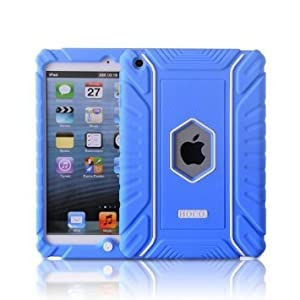 Honeycase Extreme-Duty Military Transformer Hybrid Shockproof & Drop Resistance Anti-slip Soft Silicone Case for iPad Mini 1/2/3 from HOCO