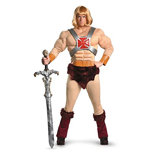 Disguise Mens Movie Characters He-Man Classic Muscle