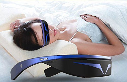 98 inches Virtual 3D Theater Video Game Glasses WIFI Bluetooth 16GB 1080P - Widescreen VR Private Theater