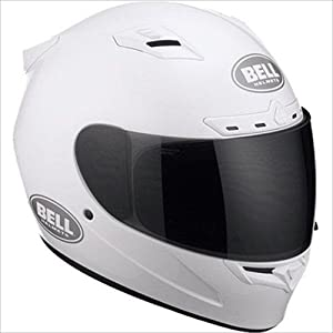 2013 Bell Vortex Motorcycle Helmets - White - Large