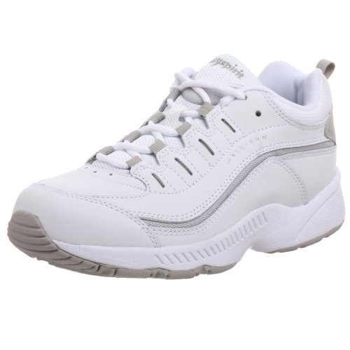 Easy Spirit Women's Romy Walking Shoes White/Grey, 8.5 B(M) US