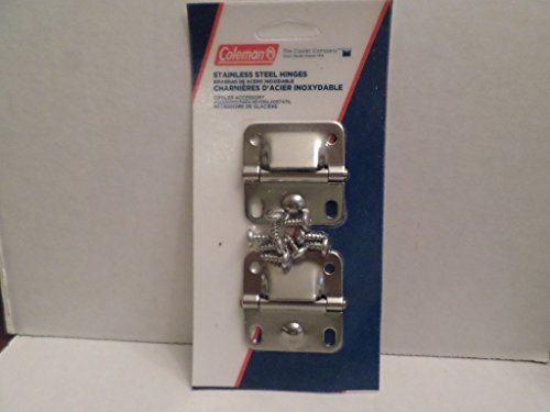 Coleman Cooler Ice Chest Stainless Steel Replacement Hinges 6155-5741