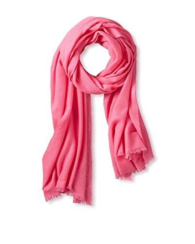 Portolano Women's Cashmere Wrap, Hot Pink