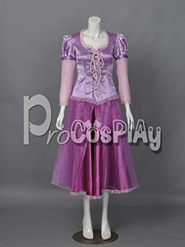 (Procosplay)Tangled Princess Rapunzel Cosplay Costume mp001593