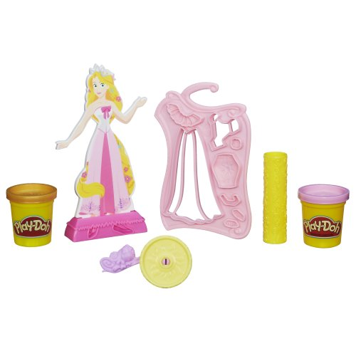 Play-Doh Design-a-Dress Fashion Kit Featuring Disney Princess Rapunzel - 1