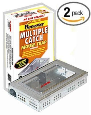 Multiple Catch Metal Mouse Trap (2 Pack)