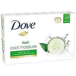Dove Beauty Bar, Cool Moisture 4 oz, 16 bar