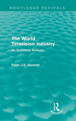 The World Television Industry (Routledge Revivals): An Economic Analysis