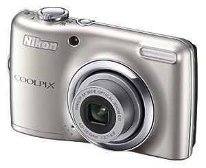 Nikon Coolpix L23 Digital Camera - Silver (10mp, 5x Optical Zoom) 2.7-inch LCD - Holiday Gift