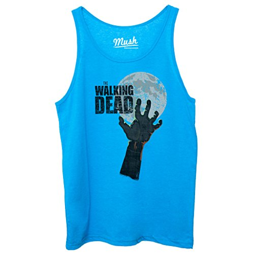Canotta THE WALKING DEAD ZOMBIE HAND - FILM by Mush Dress Your Style - Uomo-M-Blu Royal