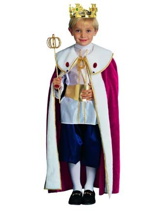 King (Child) Royal Royalty Costume
