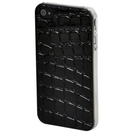 Custodia Protettiva Apple iPhone 4 e 4S Lucid Black Croc