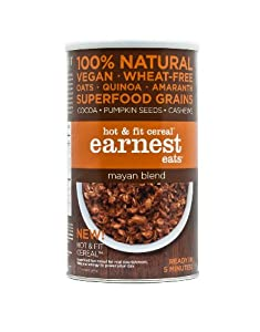 Earnest Eats Vegan Hot Cereal with Superfood Grains, Quinoa, Oats and Amaranth - Mayan Blend - (14 oz)