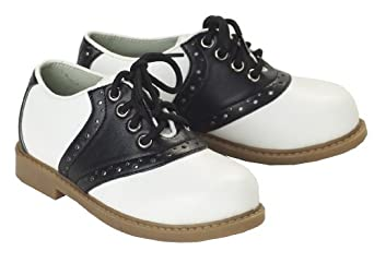 California Costumes Women's Saddle Shoes / Adult,Black/White,Small Costume