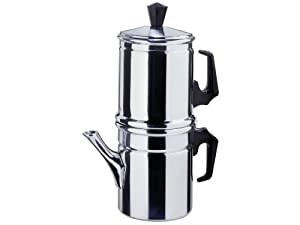 How To Use Napoletana Coffee Maker : Amazon.com: Ilsa: Coffee and Barley Maker