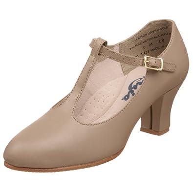 Buy Capezio Ladies 700 T-Strap Character Shoe by Capezio