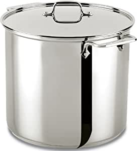 All-Clad 59916 Stainless Steel Dishwasher Safe Stockpot