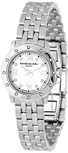 Raymond Weil Women's 5799-ST-00995 Tango Mother-Of-Pearl Diamond Dial Watch