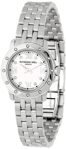 Raymond Weil Women's 5799-ST-00995 Tango Mother-Of-Pearl Diamond Dial Watch