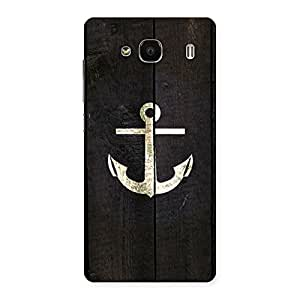 Bold Anchor Back Case Cover for Redmi 2s