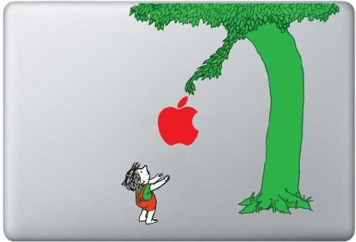 Best Deals! Color Giving Tree Decal - Vinyl Macbook / Laptop Decal Sticker Graphic