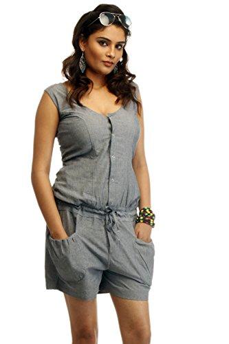 Grey Jump Suit