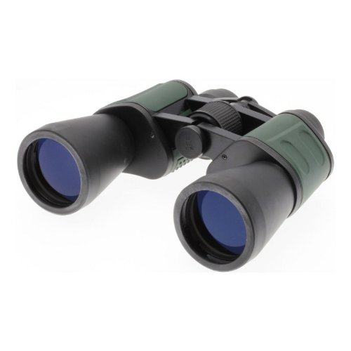 Illusion 10X50 Binoculars Rubber Armour Black/Green [H111556]