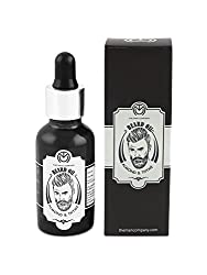 The Man Company - Almond & Thyme Oil for Beard, Moustache & Mooch - For Beard Growth, Nutrition & Thickening- [30ml] |