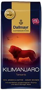 Dallmayr Kaffeerarität Kilimanjaro Bohnen, 6er Pack (6 x 250 g)