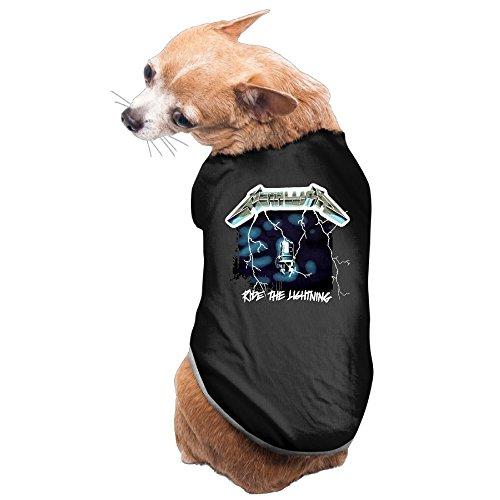 [Ride The Lightning Studio Album Metallica Dog's Pet Dog Coat] (Sunshine And Whiskey Costume)
