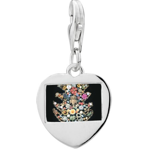 Pugster 925 Sterling Silver Trinket Christmas