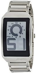 [フォスファー]PHOSPHOR 腕時計 E ink 電子ペーパーウォッチ DIGITAL HOUR SERIES W.METAL DH03 メンズ [正規輸入品]
