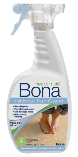 Bona Free & Simple Hardwood Floor Cleaner - 36oz Spray (Bona Floor Cleaner Free compare prices)