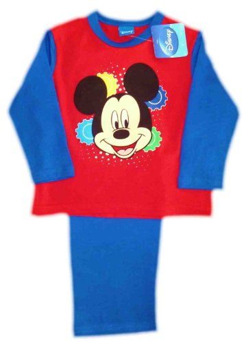 Mickey Mouse Face Boys Pyjamas 18-24 Months