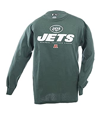 Nike New Yorks Jets Authentic Long Sleeve Logo Shirt