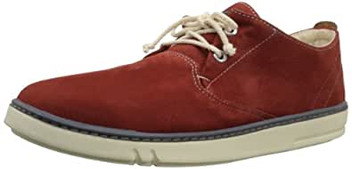 Timberland Men's Hookset Leather Oxford,Dark Red,10.5 M US