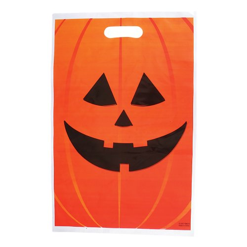 Jack O Lantern Treat Bags - 50 per unit