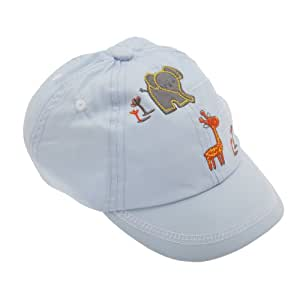 Amazon.com: Baby Boys Baseball Cap With Elephant And Giraffe Design