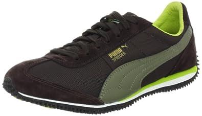 Puma Women's Speeder M Running Shoe,Black Coffee/Burnt Olive,5.5 B US