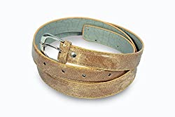 Women light brown shaded casual wear belt