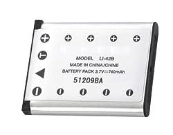 Olympus Li-42b Battery for FE-20, FE-220, FE-330, FE-340, FE-360 Camera