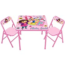 Activity Kids Only Dora The Explorer Table Set