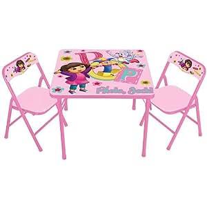 Kids Only Dora The Explorer Activity Table Set