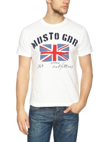 Musto Sunstrom Plain Men's T-Shirt Antique Sail White Small