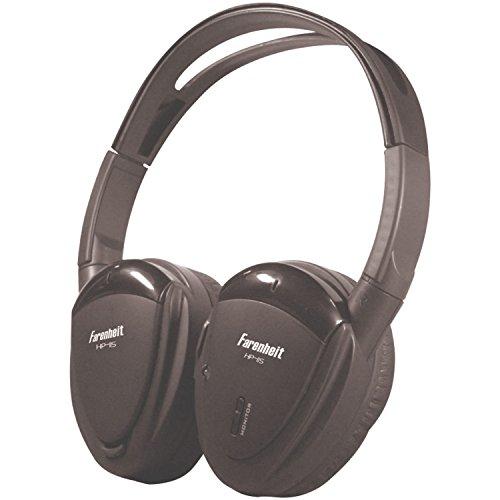 Farenheit HP-11S Swivel Ear Pad Single Channel Infrared Wireless Headphones