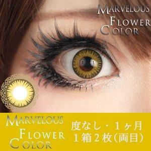 ±0.00 カラコン Marvelous Flower Color マーベラス フラワーカラー タンポポ